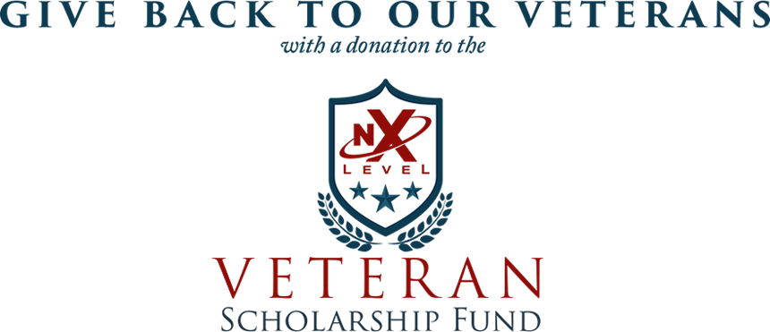 Give Back to Our Veterans with the NxLevel Veteran Scholarship Fund